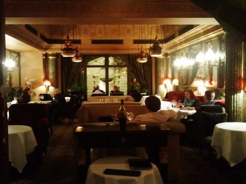 Le Restaurant, 13 rue des beaux arts, Paris