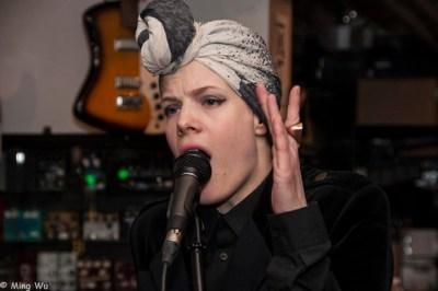 Sandra Kolstad @ Moog Audio (CMW 2013)