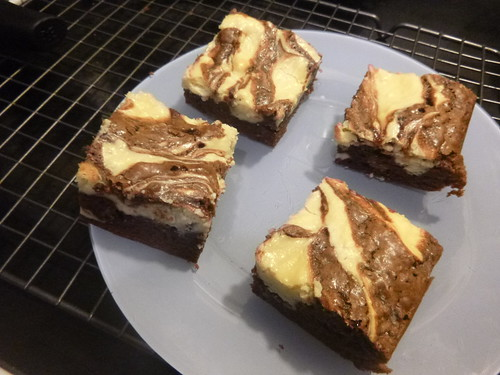 2012.01.16 - cheesecake brownies