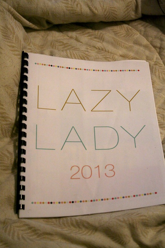 Blog Planner via Lazy Lady