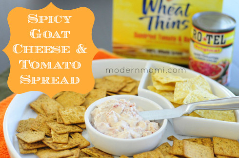 Spicy Goat Cheese & Tomato Spread