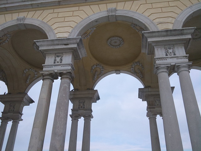 Schönbrunn in Winter