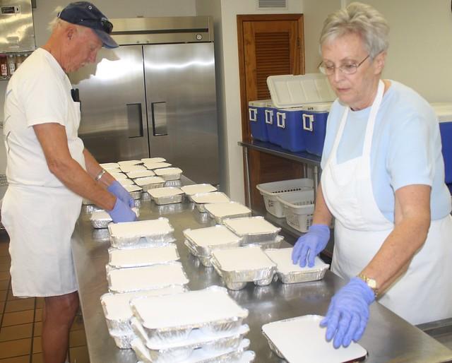 Englewood Meals on Wheels volunteers