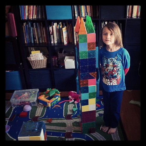 Elliott's giant tower.