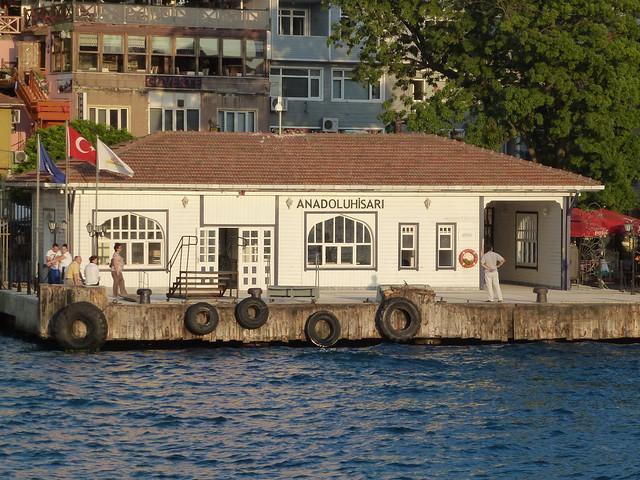 Turquie - jour 3 - Istanbul - 84 - Sur le Bosphore de Beşiktaş à Beşiktaş - Anadolu Hisarı