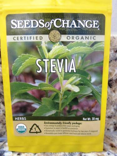 sobre semillas stevia