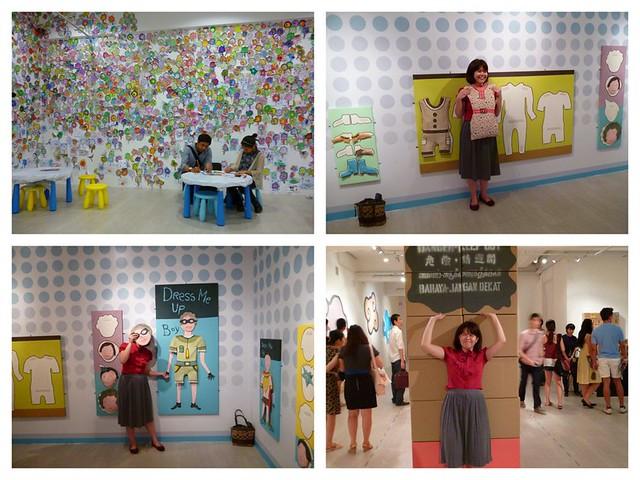 Interacting at Singapore Art Museum