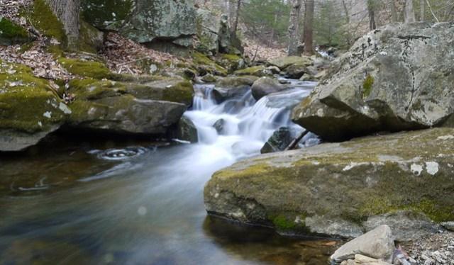 small cascade on Rhinehart Brook