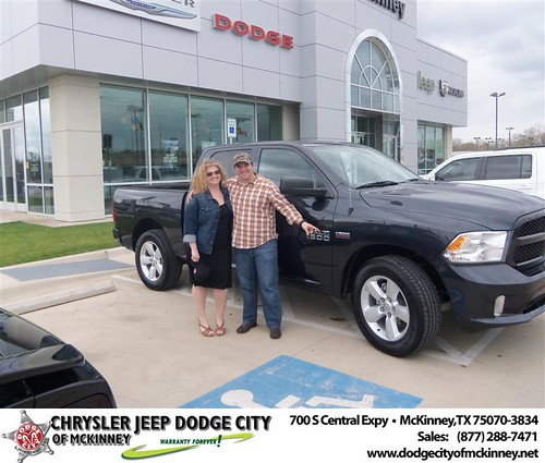 Dodge City of McKinney would like to say Congratulations to Marie Davis on the 2013 Dodge Ram by Dodge City McKinney Texas