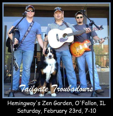 Tailgate Troubadours 2-23-13