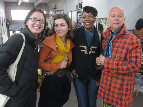 Flea market - with Kenneth King (!!!)