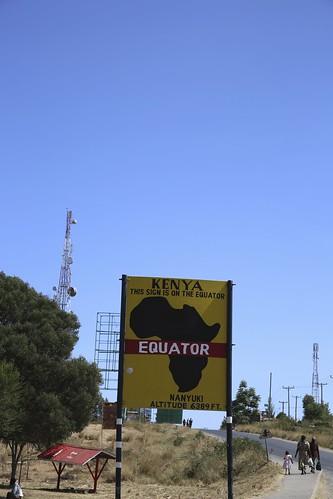 At the Equator – Nanyuki