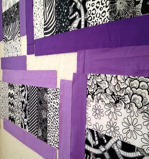 purple quilt sneak peek