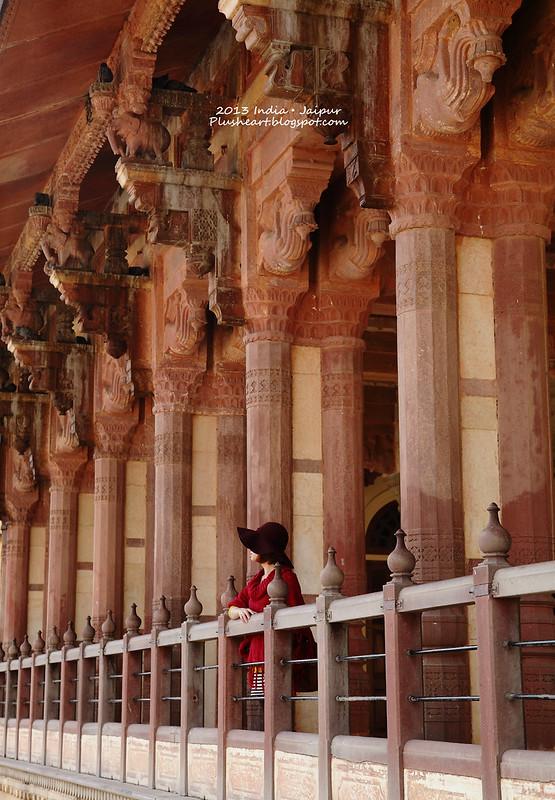 ▌India ▌ Jaipur ‧ 琥珀堡騎大象去!