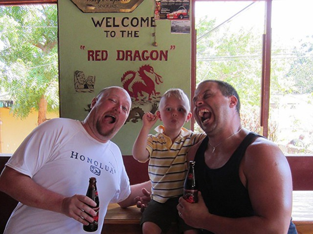 Some real lookers at the Red Dragon