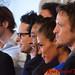 Billy Burke, JJ Abrams, Giancarlo Esposito, Daniella Alonso, & David Lyons - DSC_0125