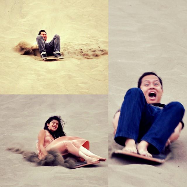 Sandboarding Thrill