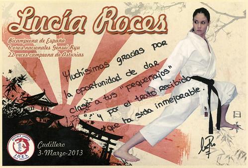 Foto firmada por Lucia Roces