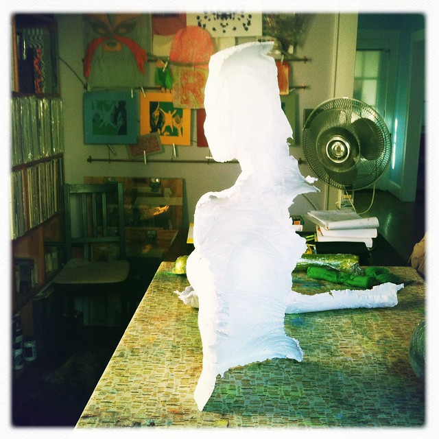 in progress: paper casting