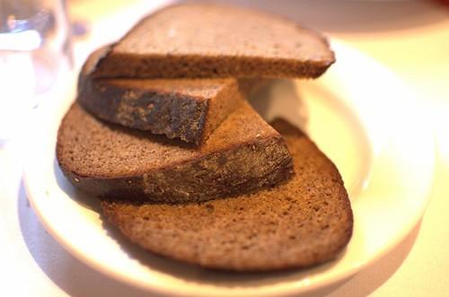 Traditional Russian black bread