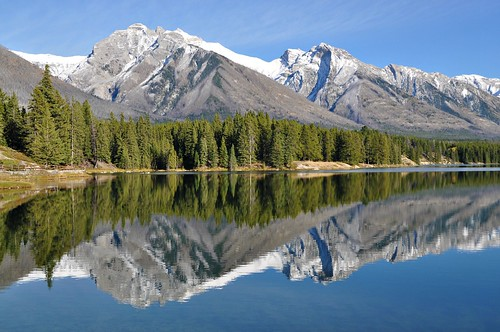 Reflection of the Rockies
