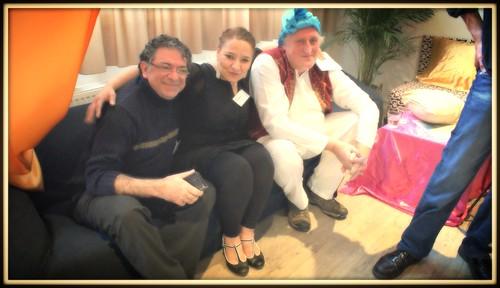 Firoez, Esma en Rob: een warme trio. Samen staan wij sterk #buurtkracht #burgerkracht by MELLOUKI