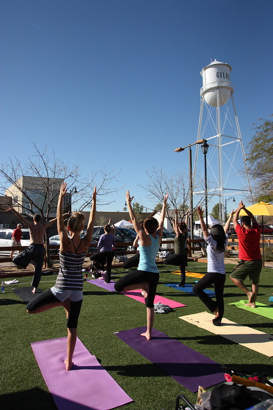 Yoga at Postino East