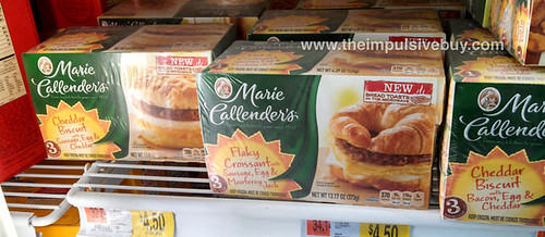 Marie Callender's Breakfast Sandwiches 2