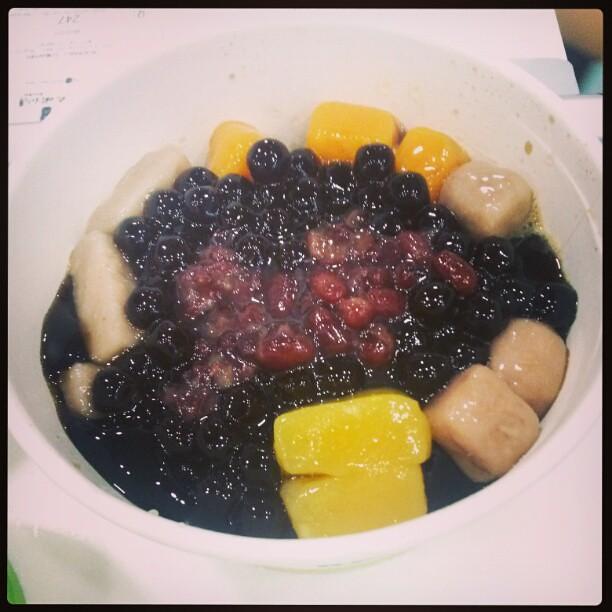 Yummy taiwanese dessert from Black Ball