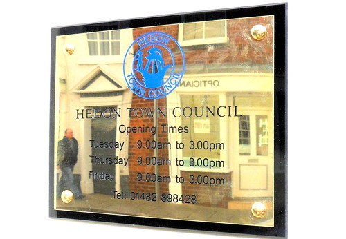 Hedon Town Council opening hours