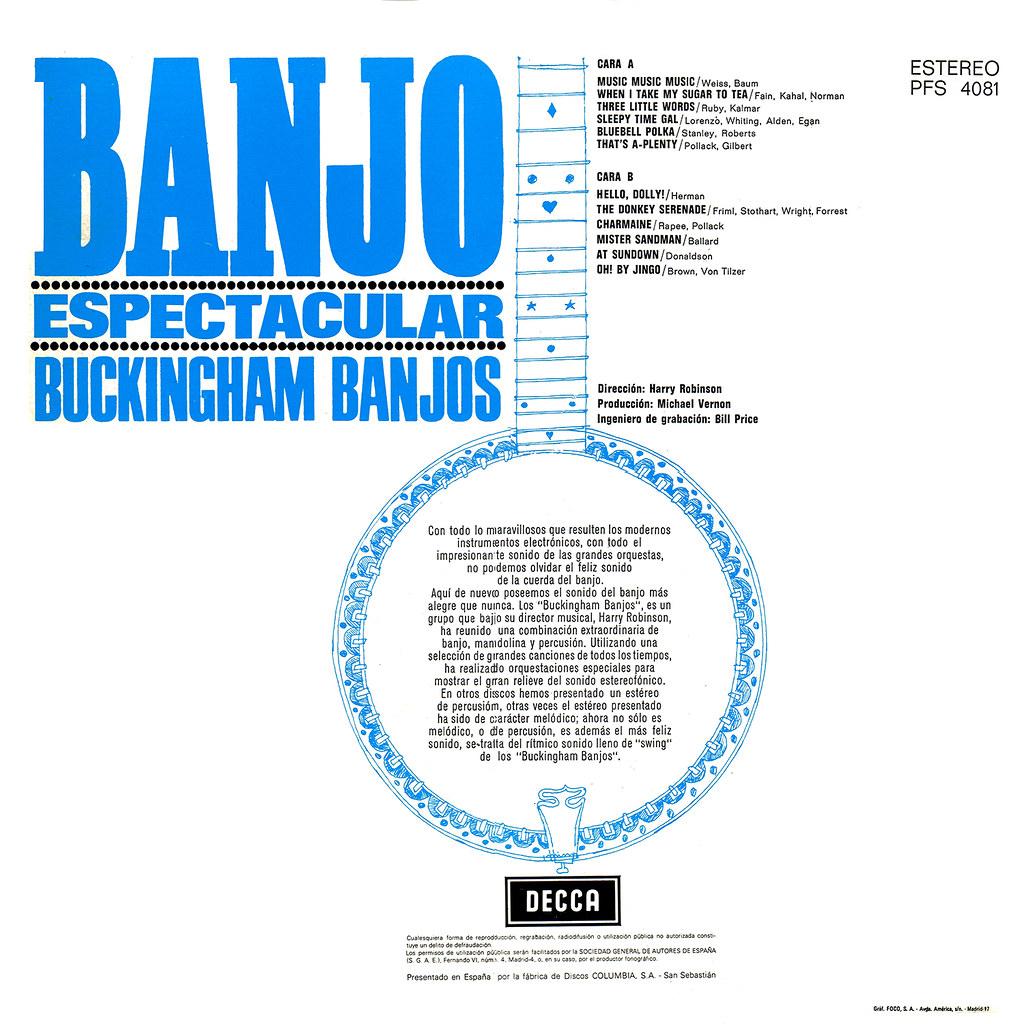 Buckingham Banjos - Banjo Spectacular