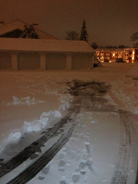 How much I shoveled