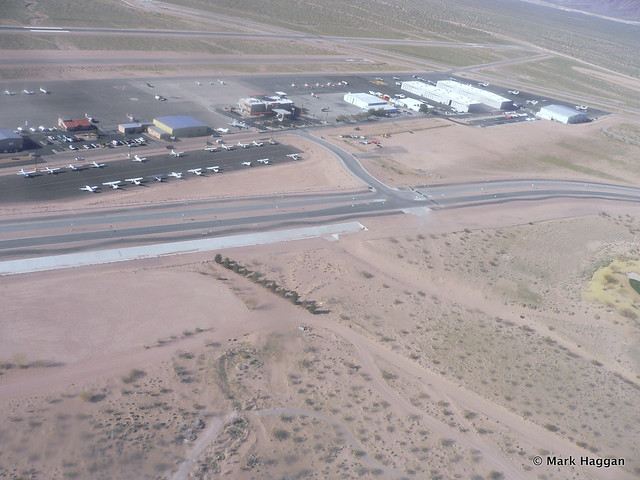 Air field near Las Vegas