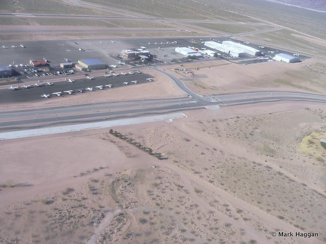 Air field near Las Vegas