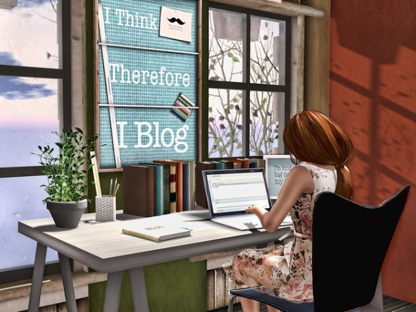I think, therefore I blog!