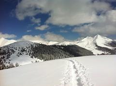 Gipfel Lutterkopf, Ausblick auf Rudlhorn, Durrakopf und Amperspitze