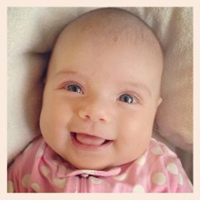 #7weeksold today and full of smiles and love.