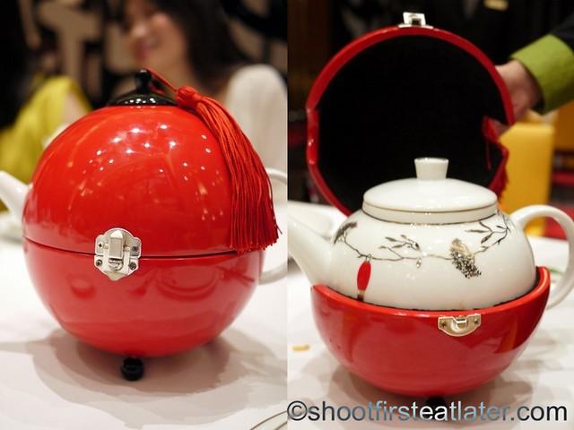 Red Lantern @ Solaire- Bernardaud tea pot