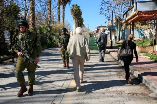 soldiers, old town Hebron