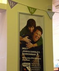 Carole and John Barrowman poster