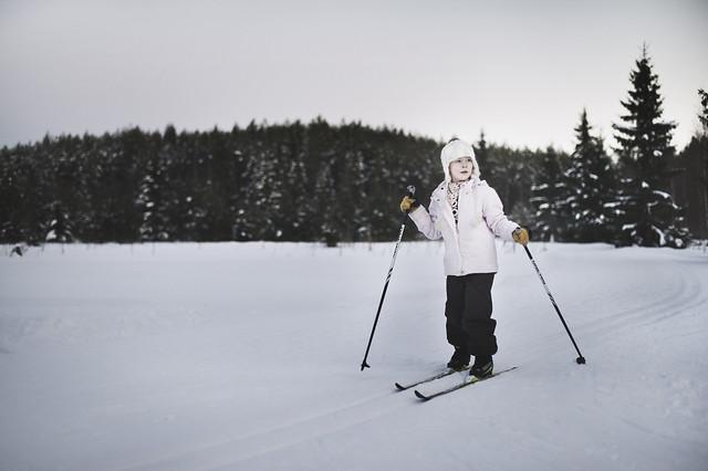 Alisa, ski portrait pt.1