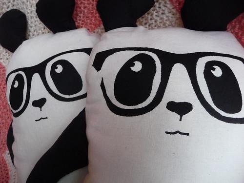 Handmade Plush Panda