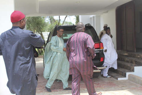 Nuhu Ribadu Arrives @ Ojukwu Family Residence In Nnewi by Jujufilms