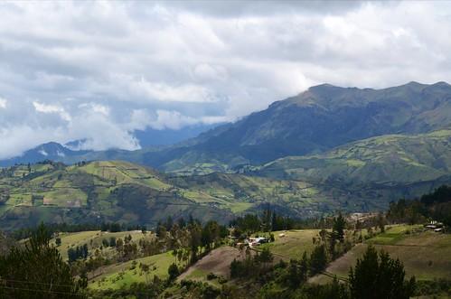 Andean hills