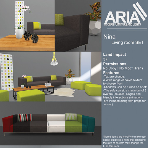 [ARIA] NINA LOUNGE SET