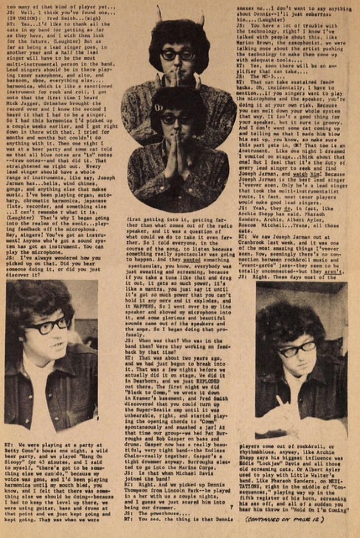 Rob Tyner - MC5 Lead Singer Interview 1967 (2)