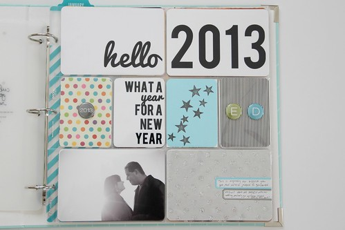 Project Life 2013: cover page