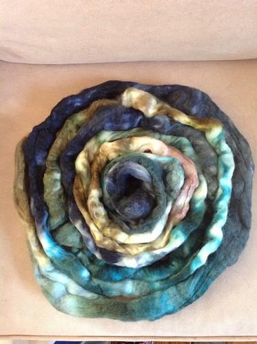 fiber :: Hello Yarn BFL/Tussah Silk