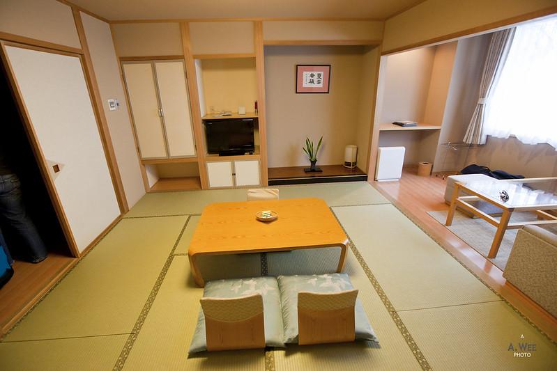 Room at Daiichi Hotel Suizantei
