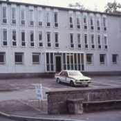 Northern Constabulary Ford Granada and Fort William Police Station